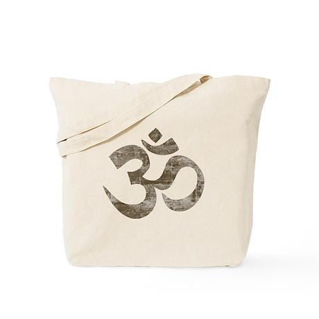 Vintage Om Symbol Tote Bag