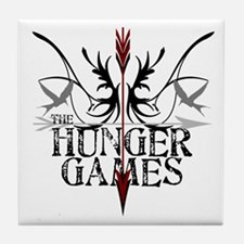 Hunger Games Gear the Arrows Tile Coaster