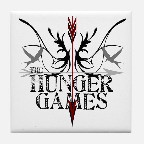 Hunger Games Gear the Arrows Tile Coaster