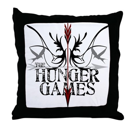 Hunger Games Gear the Arrows Throw Pillow