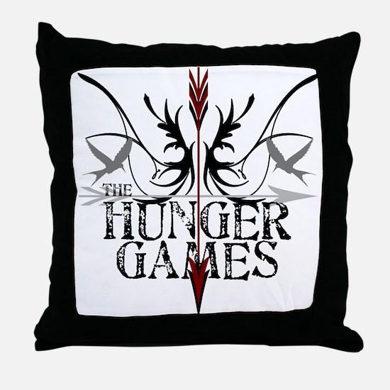 Hunger Games Gear the Arrows Throw Pillow