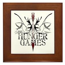 Hunger Games Gear the Arrows Framed Tile
