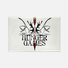 Hunger Games Gear the Arrows Rectangle Magnet