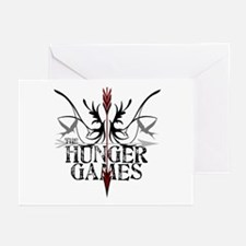 Hunger Games Gear the Arrows Greeting Cards (Pk of