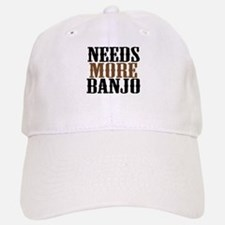 Needs More Banjo Baseball Baseball Cap
