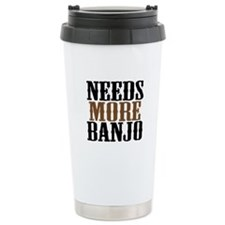 Needs More Banjo Travel Mug