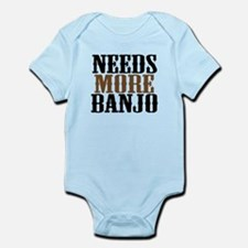 Needs More Banjo Infant Bodysuit