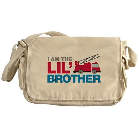 Firetruck Little Brother Messenger Bag