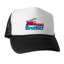 Fire Engine Big Brother Trucker Hat