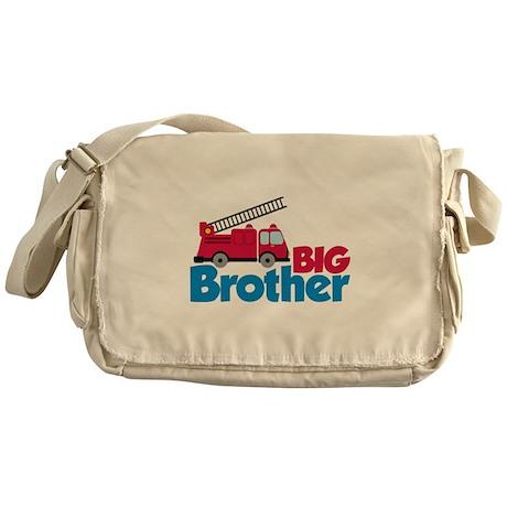 Fire Engine Big Brother Messenger Bag