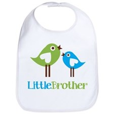 Tweet Birds Little Brother Bib