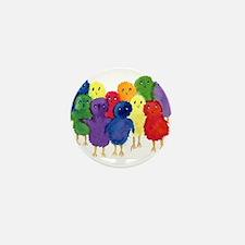 Easter Chicks Mini Button
