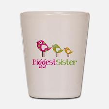 Tweet Birds Biggest Sister Shot Glass