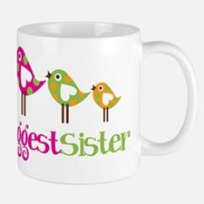 Tweet Birds Biggest Sister Mug