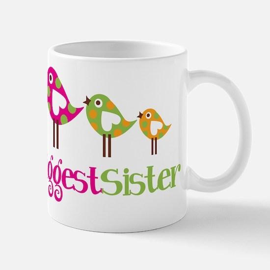 Tweet Birds Biggest Sister Mug