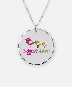 Tweet Birds Biggest Sister Necklace