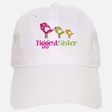 Tweet Birds Biggest Sister Baseball Baseball Cap