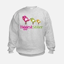Tweet Birds Biggest Sister Sweatshirt