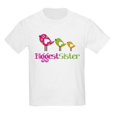 Tweet Birds Biggest Sister T-Shirt