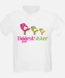 Tweet Birds Biggest Sister T-Shirt