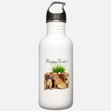 Easter Dogue de Bordeaux Sports Water Bottle