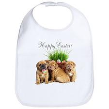 Easter Dogue de Bordeaux Bib