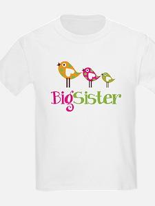 Tweet Birds Big Sister T-Shirt