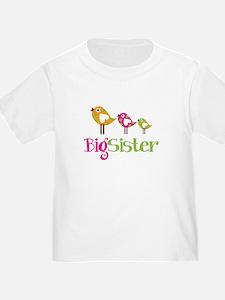 Tweet Birds Big Sister T