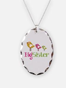 Tweet Birds Big Sister Necklace