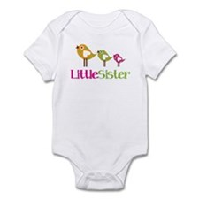 Tweet Birds Little Sister Infant Bodysuit