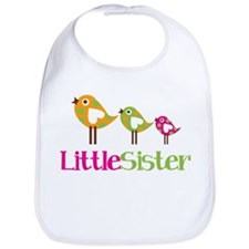 Tweet Birds Little Sister Bib