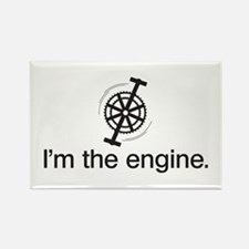 I'm the Engine Rectangle Magnet (10 pack)
