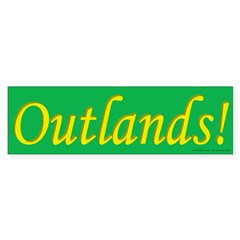 Outlands Poplace Ensign Bumper Sticker