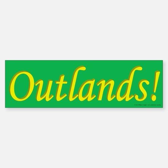 Outlands Poplace Ensign Sticker (Bumper)