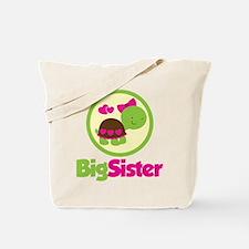 Turtle Big Sister Tote Bag