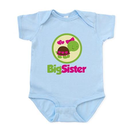 Turtle Big Sister Infant Bodysuit