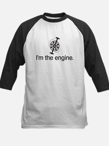 I'm the Engine Kids Baseball Jersey