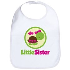 Turtle Little Sister Bib