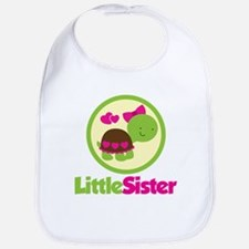 Turtle Little Sister Bib
