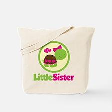 Turtle Little Sister Tote Bag