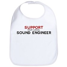 Support:  SOUND ENGINEER Bib