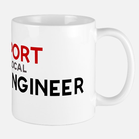 Support:  SOUND ENGINEER Mug
