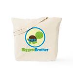 Turtle Biggest Brother Tote Bag