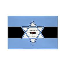Mossad Flag Rectangle Magnet (100 pack)