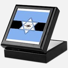 Mossad Flag Keepsake Box