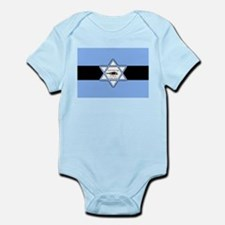 Mossad Flag Infant Bodysuit