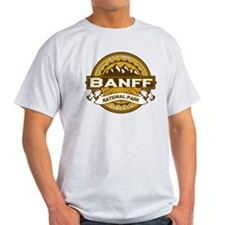 Banff Natl Park Goldenrod T-Shirt