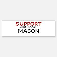 Support: MASON Bumper Bumper Bumper Sticker