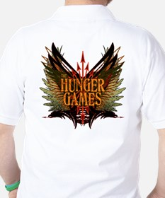 Flight of Arrows The Hunger Games Golf Shirt