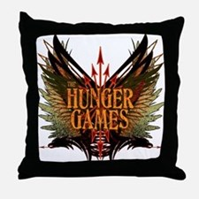 Flight of Arrows The Hunger Games Throw Pillow